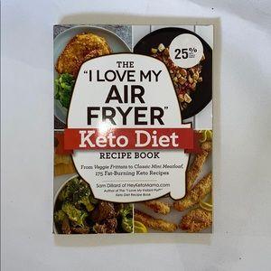 I love my air fryer keto recipe book